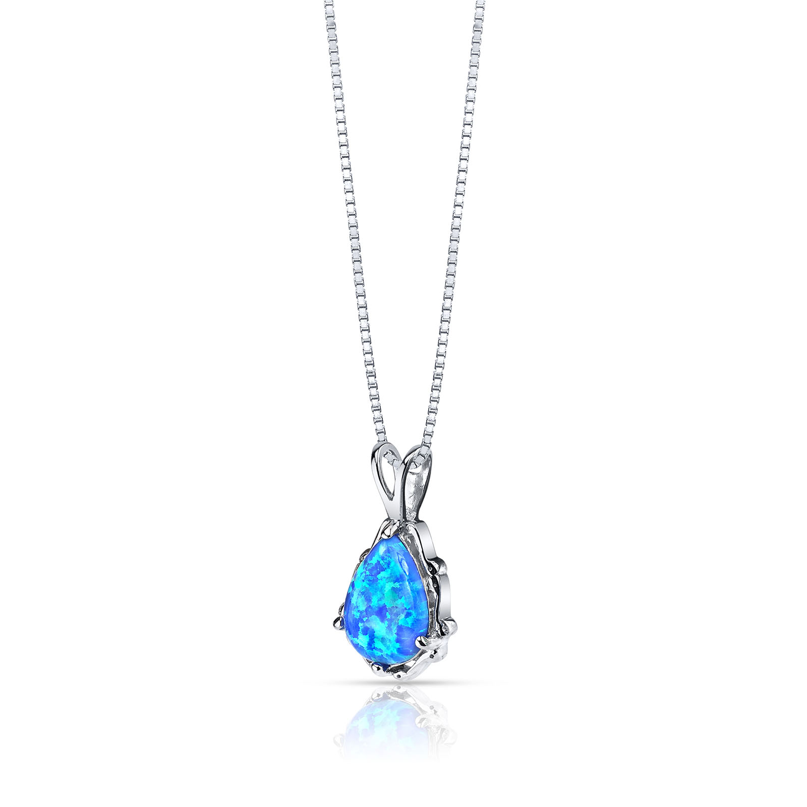 OPAL STALA PENDANT NECKLACE IN STERLING SILVER