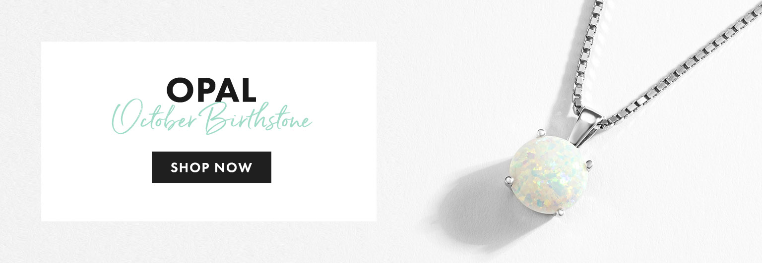 Opal Birthstone Jewellery - Shop Now