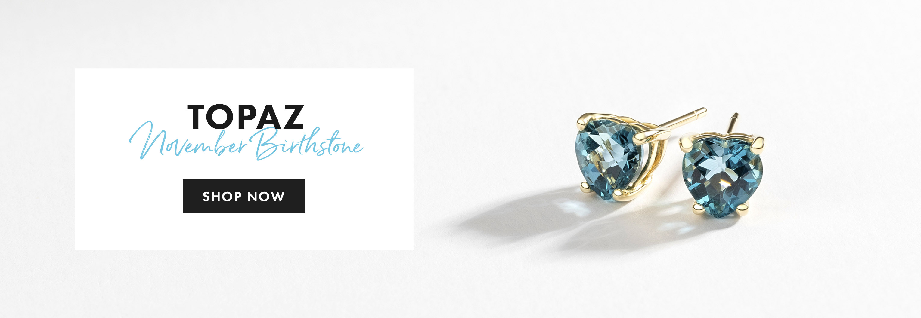 Topaz November Birthstone Jewellery